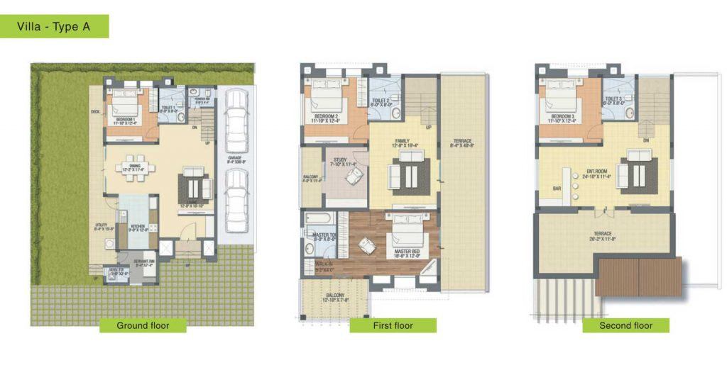 Best Villa Projects in Bangalore – Happy Days House Floor Plan