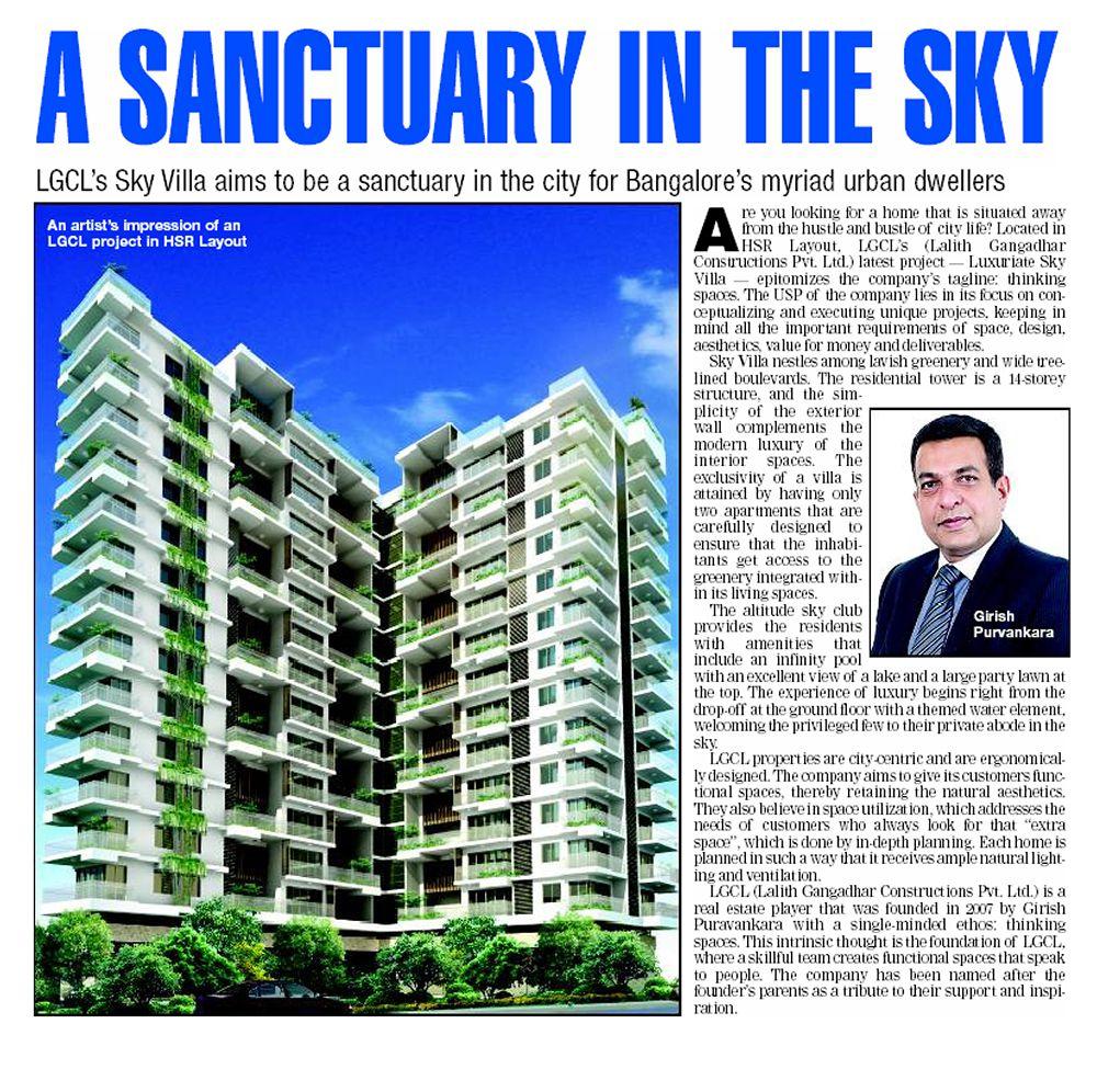 Villas for Sale in Bangalore